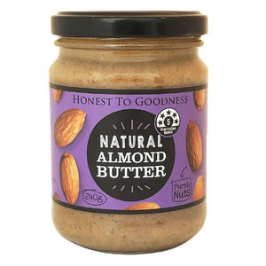 Honest to Goodness Natural Almond Butter 240g