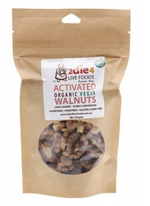 2Die4 Live Foods Activated Organic Vegan Walnuts - 120g
