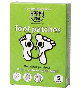 Happy Feet Foot Patches Pack of 5 Pairs