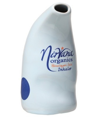 Nirvana Himalayan Salt Inhaler Ceramic