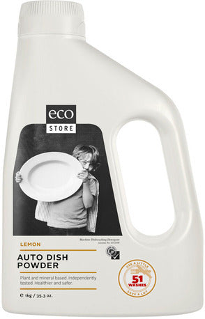 Ecostore Auto Dish Powder Lemon 1kg