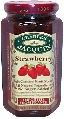 Charles Jacquin Fruit Spread Strawberry 325g