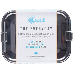 Cheeki Stainless Steel Everyday Lunchbox