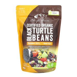 Chef's Choice Organic Black Turtle Beans 500g