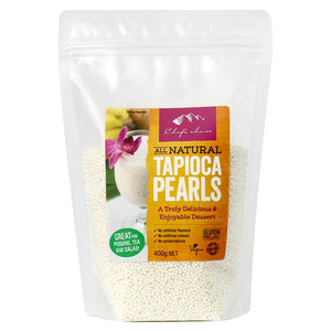 Chef's Choice All Natural Tapioca Pearls 400g