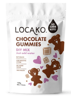 Locako Chocolate Gummies Mix 120g