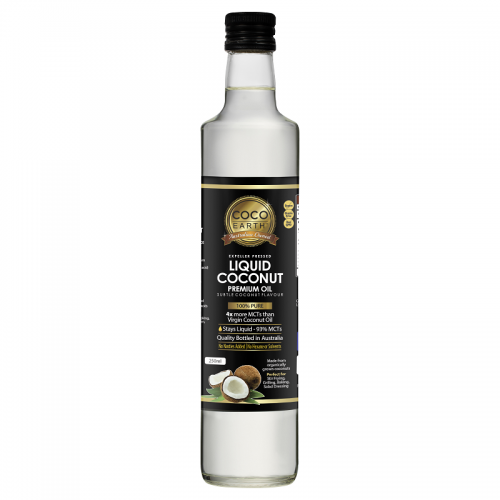 Coco Earth Liquid Coconut Oil 250ml