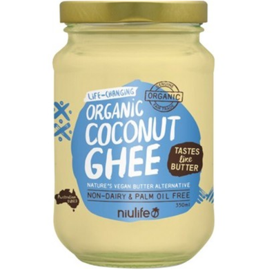 Niulife Coconut Ghee Vegan Butter Alternative 350ml