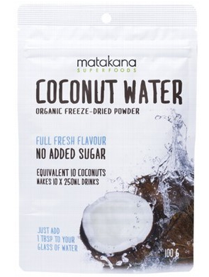 Matakana Freeze Dried Coconut Water Powder 100g