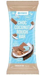 Vitawerx - Milk Chocolate Coconut Rough Bar 35g