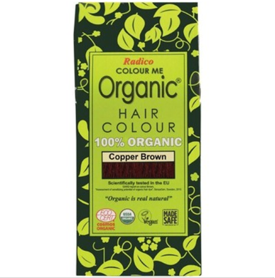 Radico Colour Me Organic - Hair Colour Powder - Copper Brown 100g