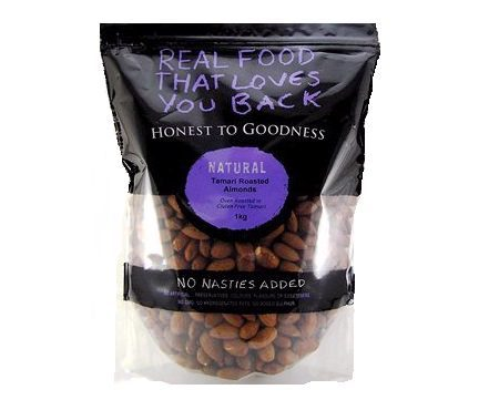 Honest To Goodness Almonds Tamari Roasted (Insecticide Free) 1kg