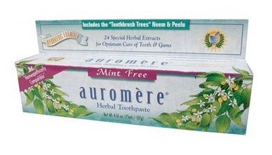 Auromere Mint Free Toothpaste 117g