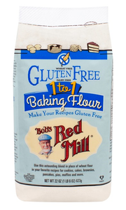 Bob's Red Mill Gluten Free 1-to-1 Baking Flour 623g
