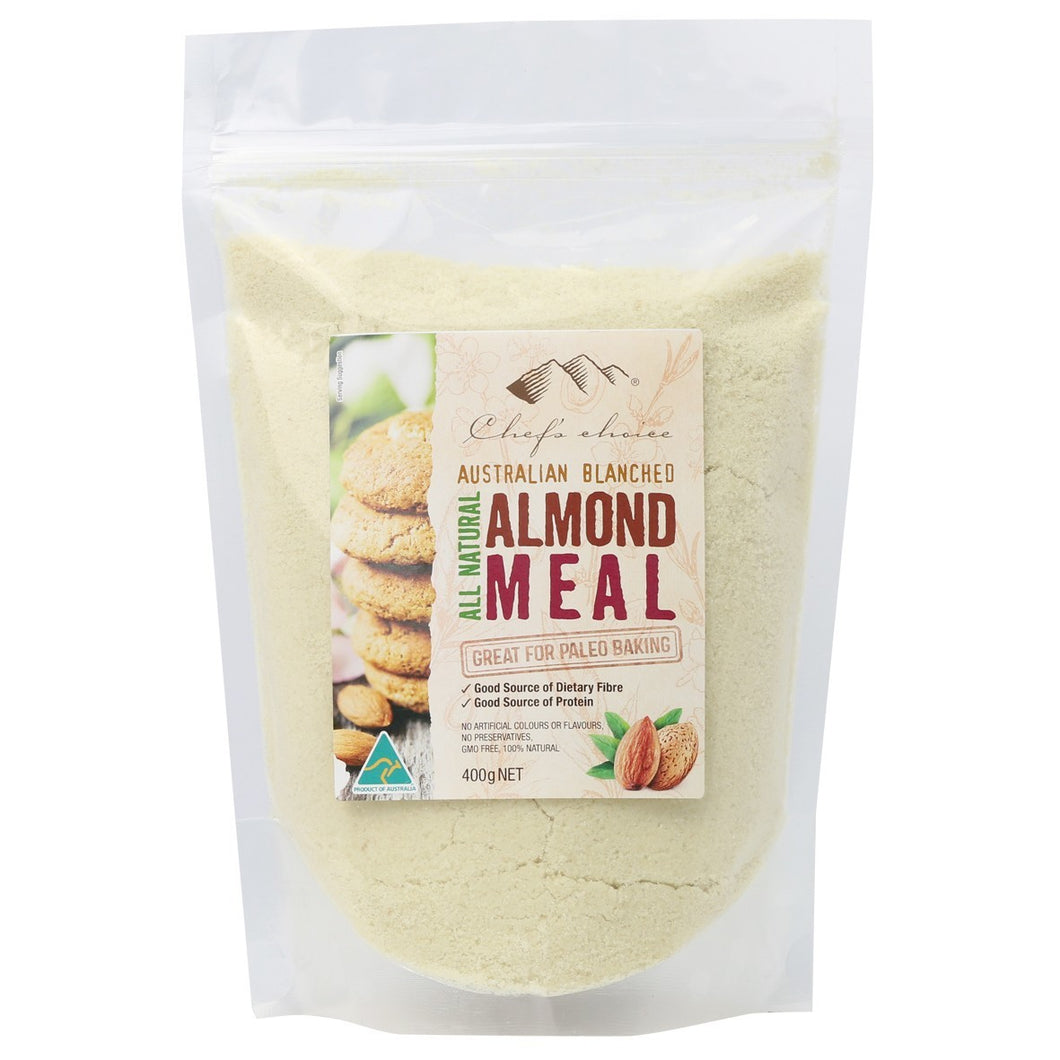 Chef's Choice Australian Blanched Almond Meal 400g