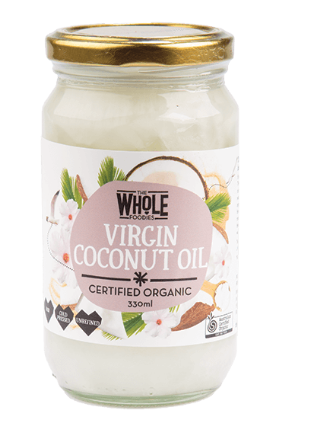 THE WHOLE FOODIES Virgin Coconut Oil 100% Pure 330ml