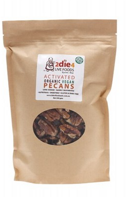 2die4 Live Foods  Activated Organic Vegan Pecans 300g