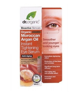Dr Organic Moroccan Argan Oil Instant Tightening Eye Serum 30ml