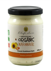 Chef's Choice Organic Mayonnaise French Traditional Style 185g