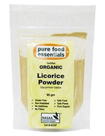 Pure Food Essentials Organic Licorice Powder 60g