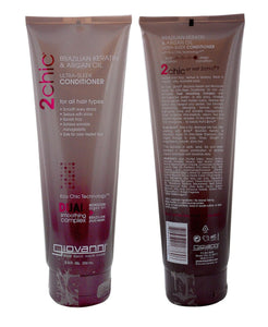 Giovanni Brazilian Keratin & Argan Oil Ultra-Sleek Conditioner 250ml