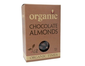 Organic Times Milk Chocolate & Almonds 150g