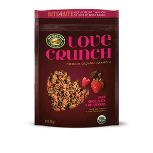 Nature's Path Love Crunch Granola Dark Chocolate with Red Berries 325g