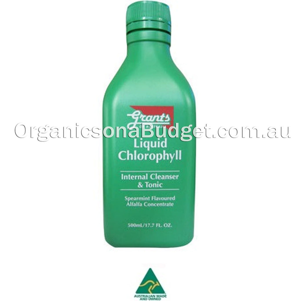 Grants Liquid Chlorophyll (Internal Cleanser & Tonic) 500ml