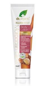 DR ORGANIC Body Lotion - Tan Extender Organic Moroccan Argan Oil 150ml