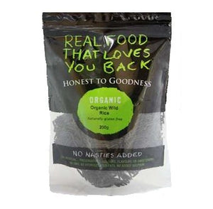 Honest To Goodness Organic Wild Rice 200g