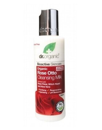 Dr Organic Rose Otto Cleanser 150ml