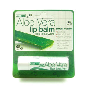 Aloe Dent Lip Balm Aloe Vera with Lysine 4g