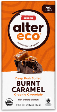 Alter Eco Dark Chocolate Burnt Caramel 80g