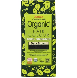 Radico Colour Me Organic - Hair Colour Powder - Dark Brown 100g