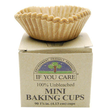 If You Care Mini Baking Cups 90 cups (4.14cm diameter)
