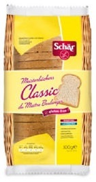 Schar Gluten Free White Sourdough Bread 300g