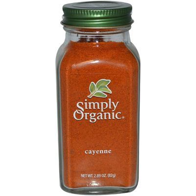 Simply Organic Cayenne Pepper 81g (Kosher)