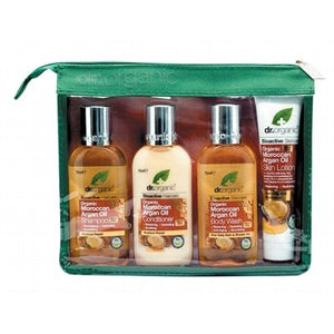 Dr Organic Mini Travel Pack Organic Moroccan Argan Oil 4 pack