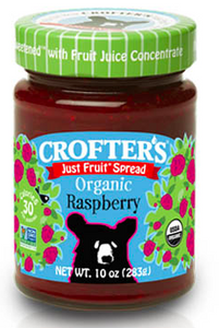 Crofters Just Fruit Spread Organic Raspberry - 283g