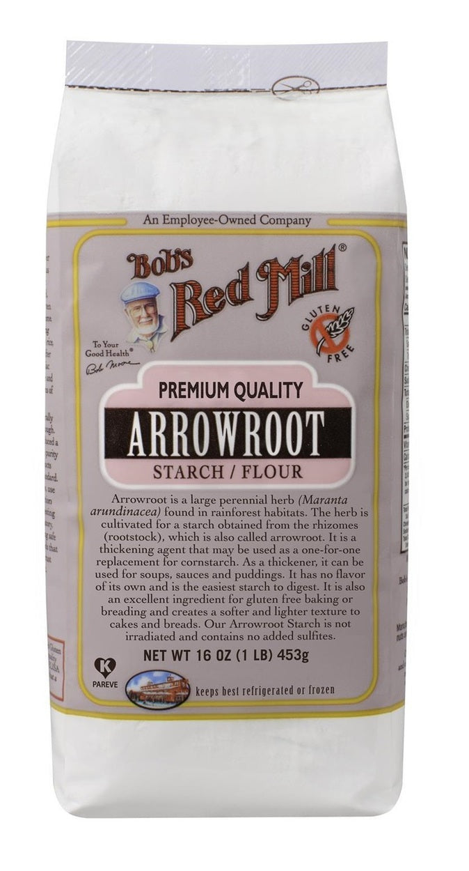 Bob's Red Mill Arrowroot Starch Flour 453g
