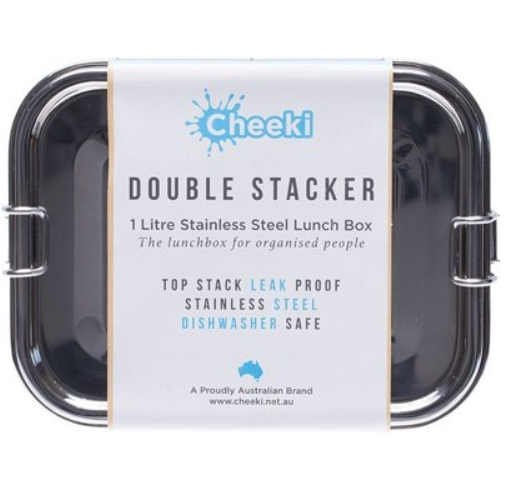 Cheeki Lunch Box Double Stack 1L