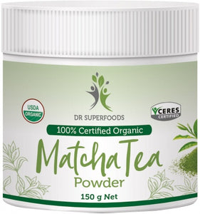 Dr Superfoods Matcha Tea Powder 125g