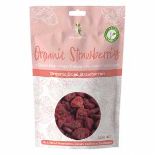 Dr Superfoods Super Strawberries 125g