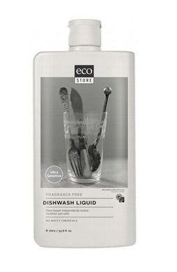 Ecostore Dishwash Liquid Fragrance Free 1L