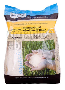 Kialla Pure Foods Organic Stoneground Wholemeal Flour 1kg