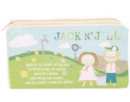 Jack N' Jill Sleepover Cotton Storage Bag HALF PRICE