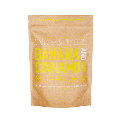 BAKE MIXES Muffin Mix Banana and Cinnamon 275g