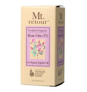 Mt Retour Rose Otto (3% In Jojoba) Essential Oil 10ml