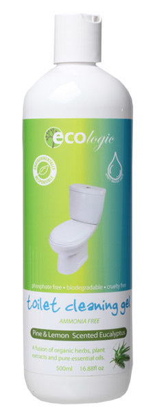 Ecologic Toilet Cleaning Gel Pine & Lemon Eucalyptus 500ml