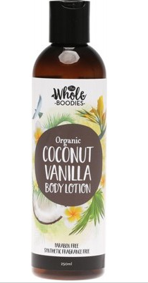 The Whole Boodies Body Lotion Coconut Vanilla - 250ml